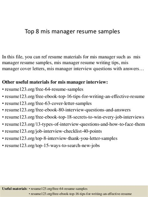 sample resume for operations manager coo sample resume executive