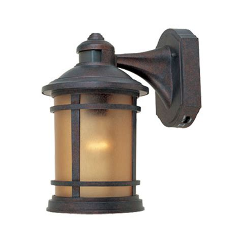 Motion Activated Outdoor Wall Light With Photocell Sensor Outdoor Light
