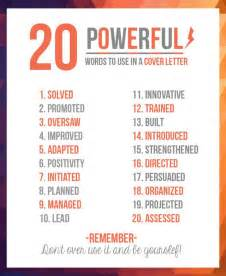 20 powerful words to use in a resume the meta picture