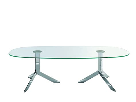 tavolo ovale cristallo iblea tavolo ovale by desalto design gordon guillaumier