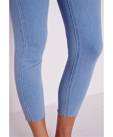 High Waist Cropped high waisted cropped ye jean