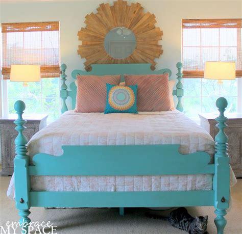 coral turquoise bedroom my master plan bedroom updates diy pinterest