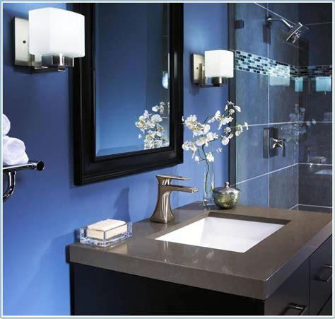 Navy blue bathroom ideas navy blue bathroom design ideas house food paint dark navy blue