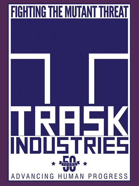 Kaos X Trask Industries Logo trask industries s purple sweater inspired by