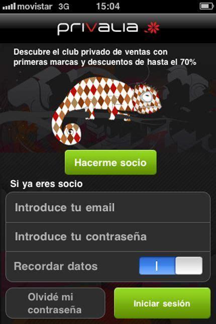 privalia mobile privalia pionera en lanzar una aplicaci 243 n para comprar
