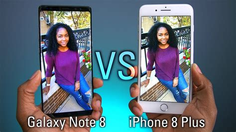 iphone    galaxy note  camera test youtube