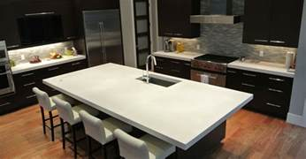 Concrete Kitchen Countertops Concrete Countertops Photos How To And Cost The Concrete Network