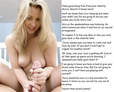 Milf chastity spanking cuckold