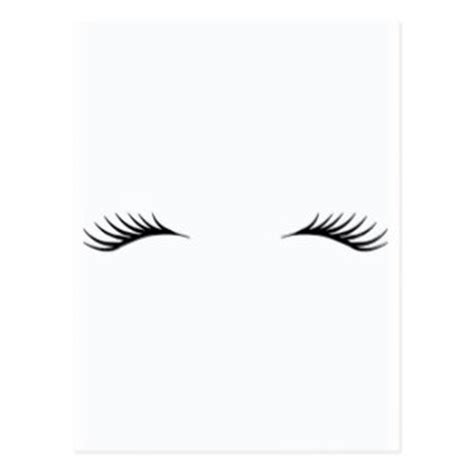 fd 120 card cutter template eyelashes postcards zazzle