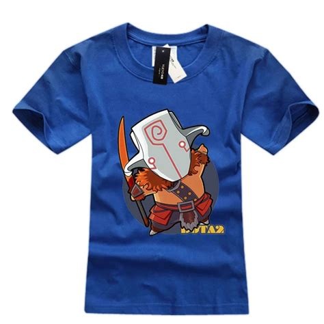 Dota 34 T Shirt dota 2 juggernaut t shirt sleeve tees for boys