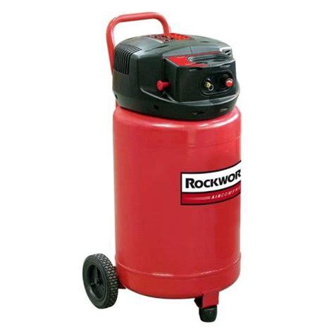 discount rockworth rw1820f 20 gallon factory reconditioned portable electric shop air compressor