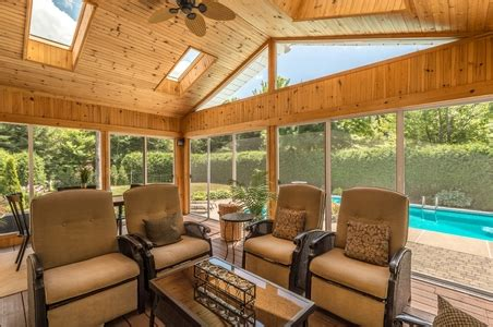 flooring options  screened porches