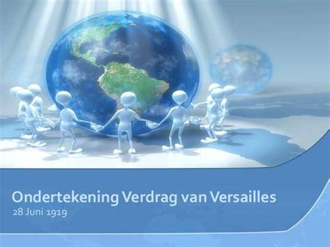 powerpoint themes for the globalization ondertekening verdrag van versailles