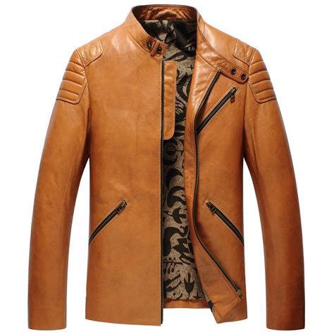 design leather jacket online fashion cowhide leather jackets cw850403