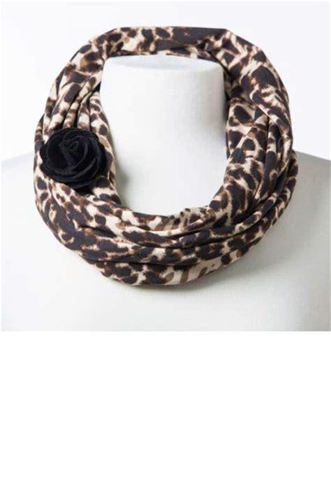 infinity leopard scarf leopard print infinity scarf
