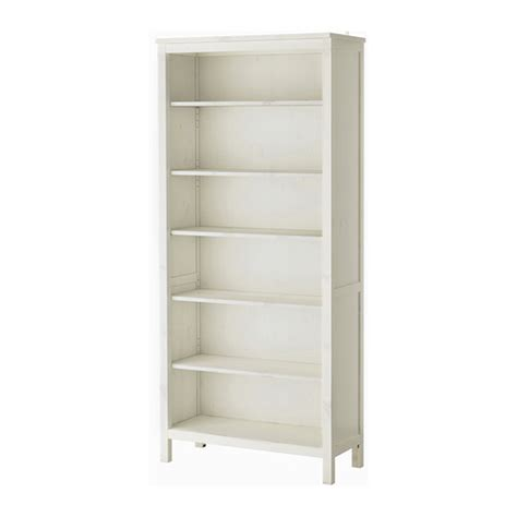 White Bookshelf Hemnes Bookcase White Stain Ikea