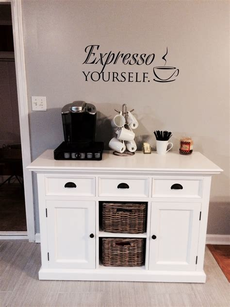 coffee nook ideas my kitchen coffee nook for the home pinterest