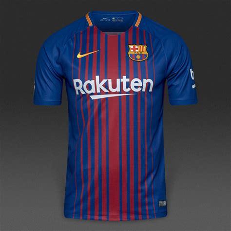 barcelona home kit fc barcelona home kit 2017 18 pro soccer news