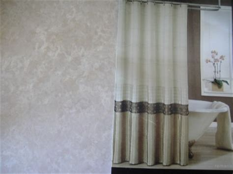 kas curtains kas quot romana quot fabric shower curtain brown bronze taupe ebay