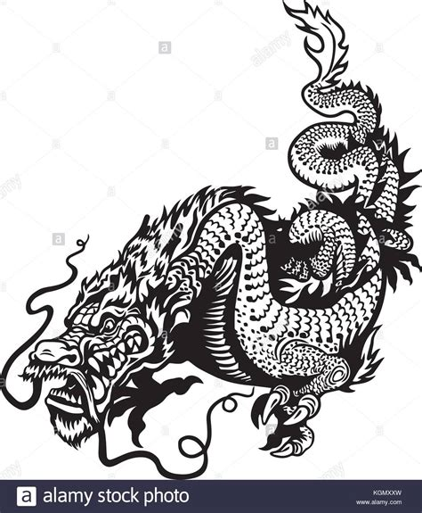 chinese dragon tattoo stock vector japanese stock photos japanese