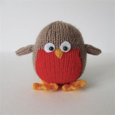 knitting pattern christmas robin jolly robin knitting pattern by amanda berry knitting