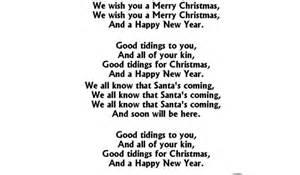 Christmas song lyric coloring pages we wish you a merry christmasfree