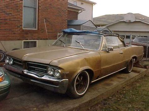 64 Pontiac Lemans by Sell Used 1964 Pontiac Lemans Convertible 326 Automatic