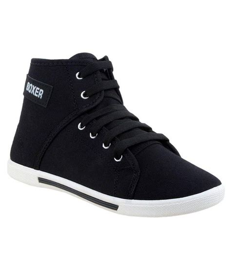 clymb black canvas shoes price in india buy clymb black