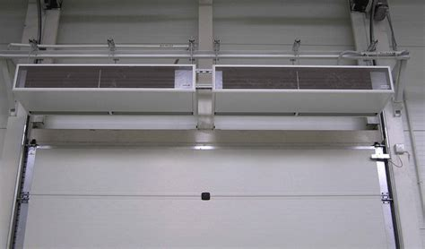 overhead door air curtain air curtains for overhead doors industrial high speed