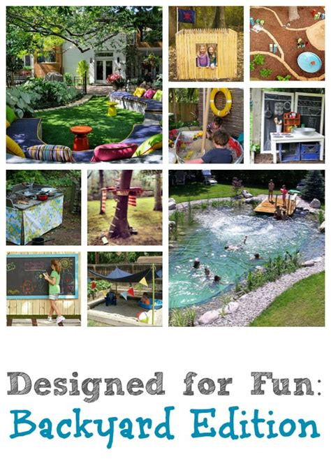 fun backyard ideas fun backyards for kids idea bedroom design