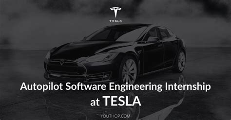 tesla summer internships autopilot software engineering internship 2018 at tesla