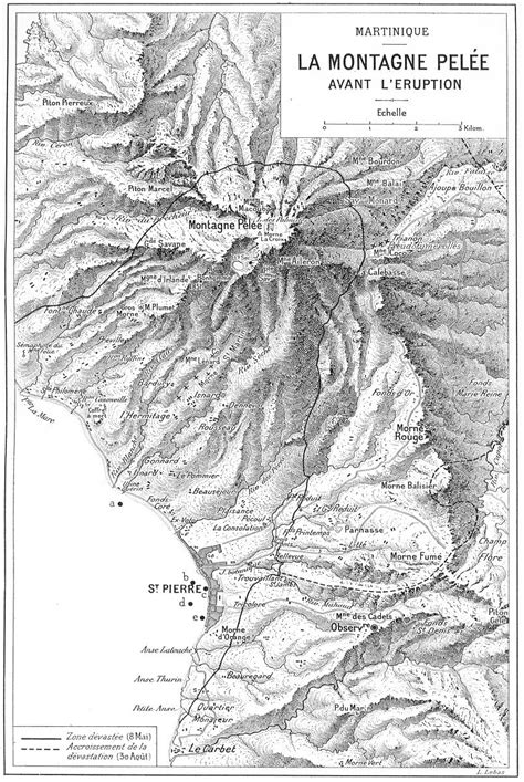 History of Geology: May 8, 1902: La Pelée