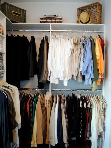 Walk In Closet Clothing by Closet Storage Ideas Hgtv
