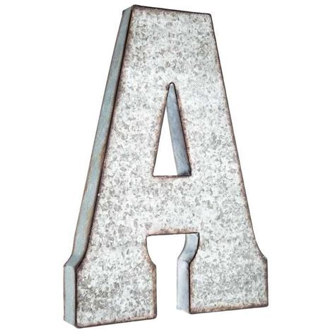 up letter to hobby lobby hobby lobby large galvanized metal letter miscellaneous