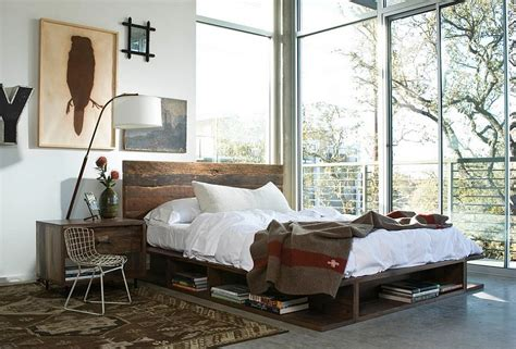 rustic contemporary bedroom 30 ingenious wooden headboard ideas for a trendy bedroom