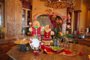 Show me christmas all through the house decorating kitchen decorations