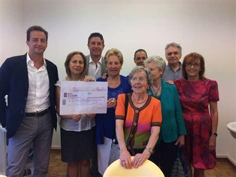 Banca Fedeuram by Donazione Banca Fideuram A Lilt Pisa 2015 Lilt Pisa