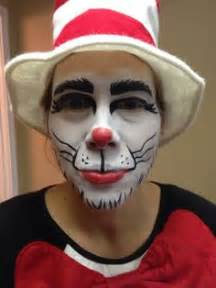 Cat in the hat face painting dr seuss face paint amy https www