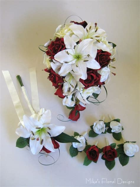 artificial wedding flower packages