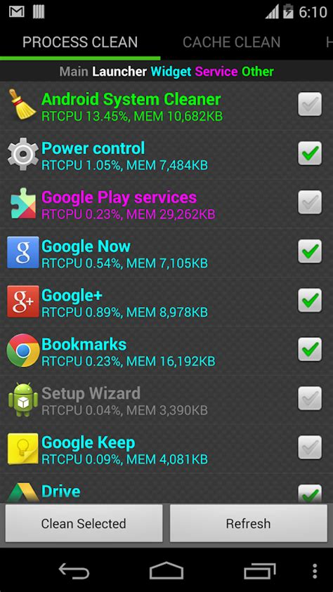 cleaner apk system cleaner for android apk android productivity apps