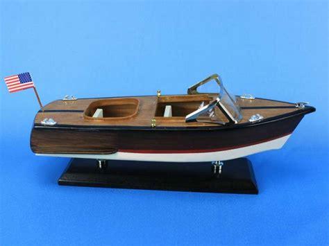 buy chris craft boats buy wooden chris craft runabout model speedboat 14 inch