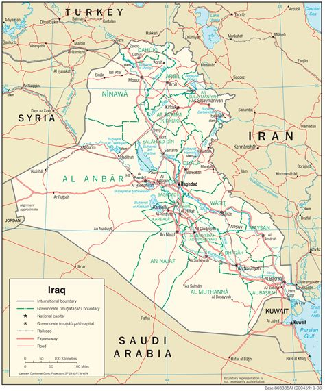 map of iraq iraq maps perry casta 241 eda map collection ut library