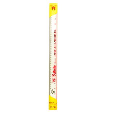 Ruler Stainless Penggaris Besi Joyko 30 Cm penggaris 50cm