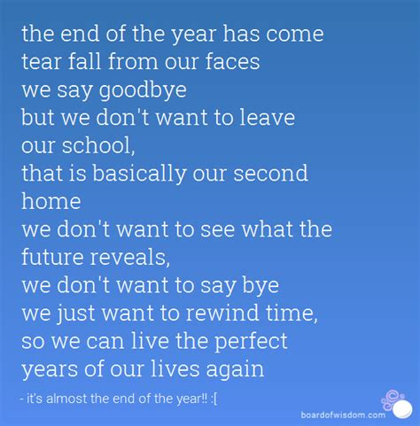 an end of year goodbye quotes quotesgram