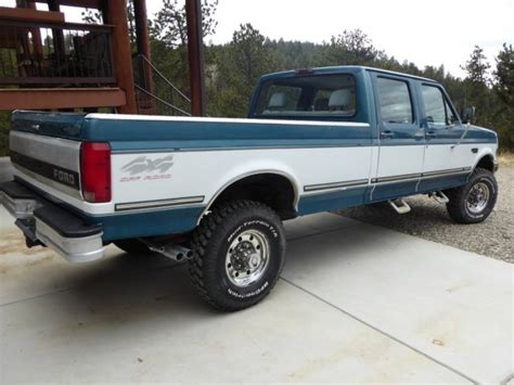 how petrol cars work 1994 ford f350 seat position control 1994 ford f350 xlt 4x4 crew cab not diesel f250 f150 classic ford f 350 1994 for sale