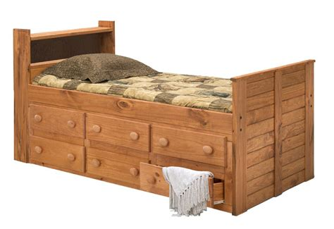 pine crafter american made quality furniture captain beds