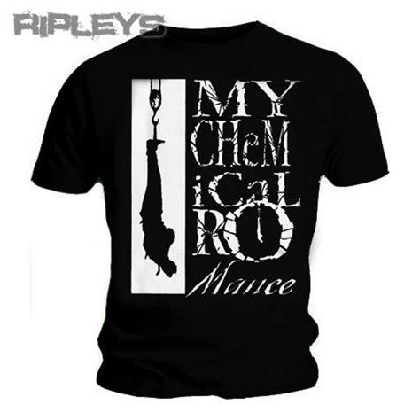 T Shirt Mcr official t shirt my chemical black hangman all sizes
