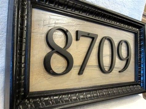 House Address Numbers by Creative Ideas For Displaying Your Home Address Diy