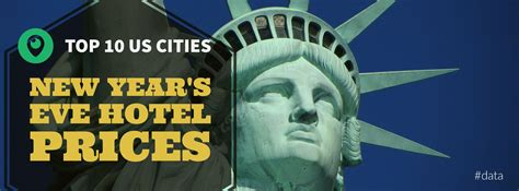 new year price top 10 us destinations new year s hotel price spikes
