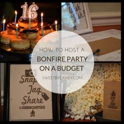 How to have a bonfire party on a budget for teens